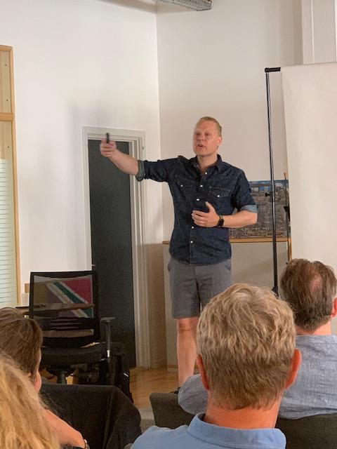 Foredrag med professor Claus Nygaard den 27. juni 2019
