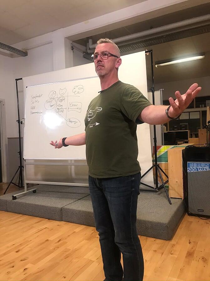 Foredrag med Morten Schebye den 19. nov 2019